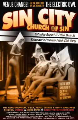 Sin City Church Of Sin