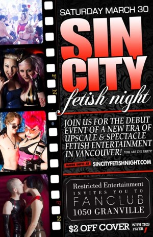 Sin City March 30, 2013 Discount Pass