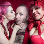 Photo Booth Madness from Sin City's Valentine's Fetish Ball!